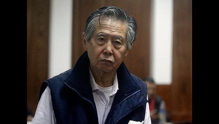 Abogado reclama pensión para Alberto Fujimori