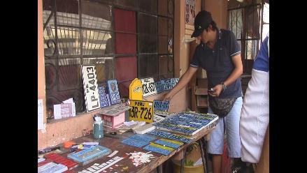 Chiclayo: PNP interviene local donde se adulteraban placas de autos