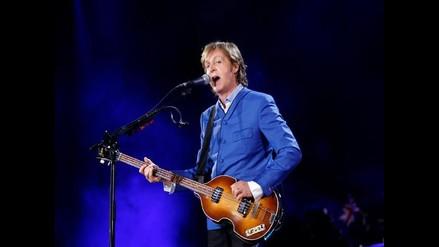 McCartney canceló concierto en Seúl por problemas de salud