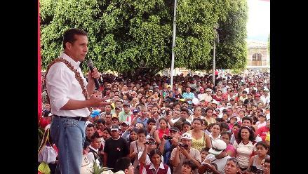 Ollanta Humala asegura que resolverá problemática de Ucayali