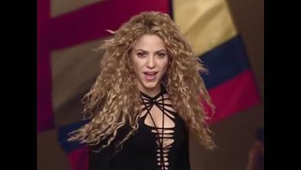 Shakira lanza videoclip junto a Gerard Piqué y Milán