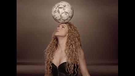 Shakira estrenó videoclip mundialista con Piqué, Messi, Neymar y Falcao