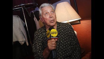 Osvaldo Cattone: ´Apoyo totalmente a Carlos Bruce´