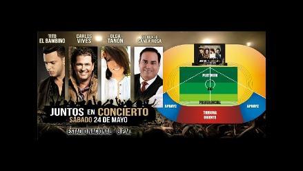 Juntos en concierto: Lo que debes saber antes de ir al show