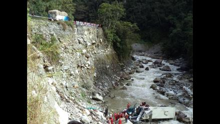 Cusco: inician búsqueda de periodista que cayó al río Urubamba