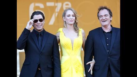 ´Pulp Fiction´ en la alfombra roja de Cannes 20 años después