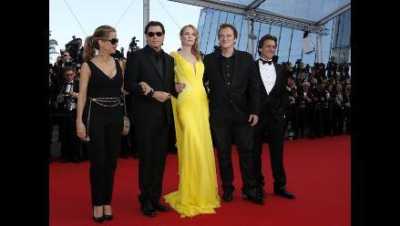 Así fue la alfombra roja de ´Pulp Fiction´ en Cannes