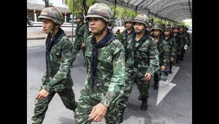 Opositores planean más protestas contra el golpe militar en Tailandia