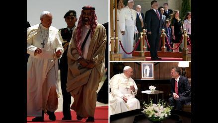 Papa Francisco en Tierra Santa: pontífice llega a Jordania