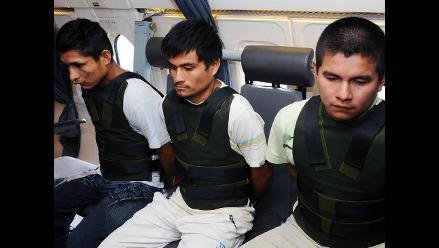 Trasladan a Lima a terroristas capturados en el Alto Huallaga