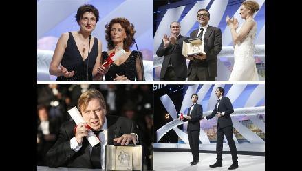 Ellos son los ganadores del Festival de Cannes 2014