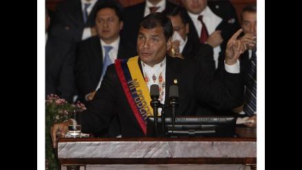 Correa pedirá una enmienda constitucional para la reelección indefinida