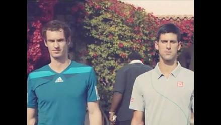 Novak Djokovic y Andy Murray son secuestrados en divertido comercial