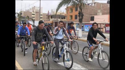 Colectivo Ciclismo Urbano Trujillo promueve uso de bicicletas