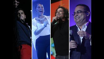 'Juntos en concierto': 4 grandes exponentes hicieron bailar al Nacional
