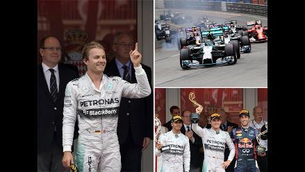 Fórmula Uno: Mira las mejores postales del triunfo de Rosberg en Mónaco