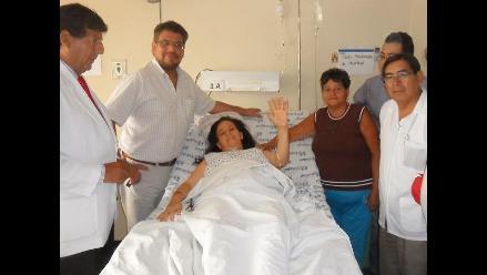 Chiclayo: médicos extirpan tumor de 3 kilos a joven madre