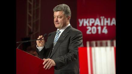 Poroshenko desea reunirse con Putin para hablar sobre crisis ucraniana