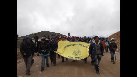 Nasca: mineros artesanales suspende huelga indefinida