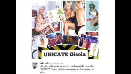 Beto Ortiz publica fotos de Gisela cuando era vedette