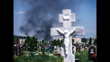 Estalla ofensiva de los rebeldes prorrusos tras elección de Poroshenko