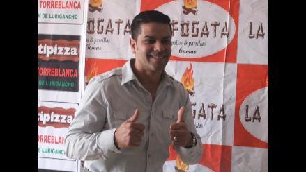 Luisito Rosario ofrecerá show en Lima