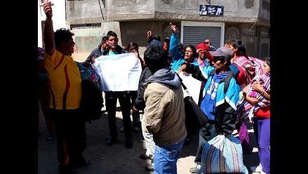 Huancayo: familiares de detenidos en Tintaypunco exigen justicia