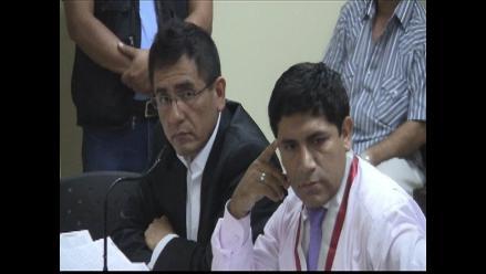 Chiclayo: Castro compareció ante la justicia por caso de difamación