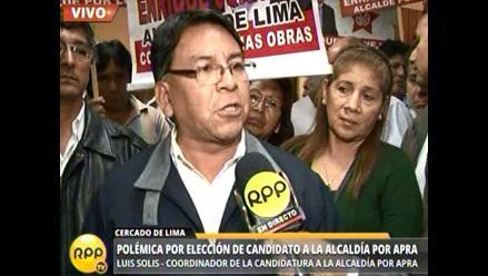 Apra: militantes piden a dirigencia que convoque elecciones internas