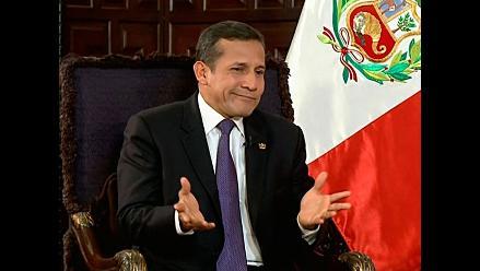 Ollanta Humala: no estamos cruzados de brazos frente a delincuencia