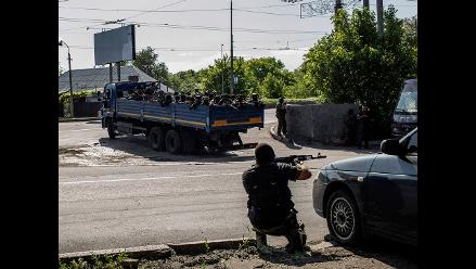Aviones de combate del Ejército ucraniano vuelven a sobrevolar Donetsk