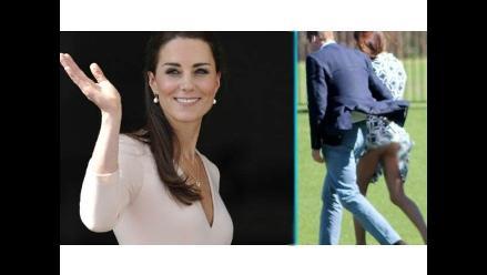Publican fotografía del derrier de Kate Middleton