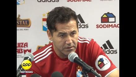 Sporting Cristal: Daniel Ahmed hace mea culpa y ahora buscará el Apertura