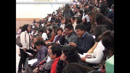 Arequipa: docentes contratados de institutos superiores acatarán paro