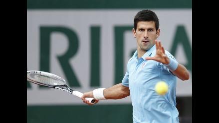 Roland Garros: Djokovic avanza a tercera ronda tras acabar con Chardy