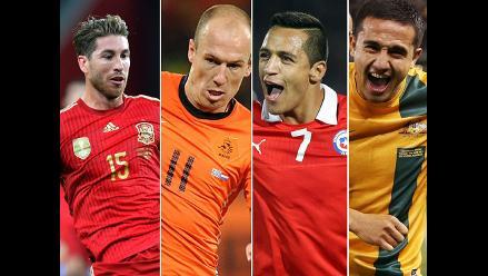 Brasil 2014: Análisis del grupo B de España, Holanda, Chile y Australia