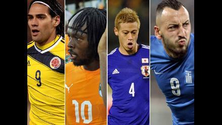 Brasil 2014: Análisis del grupo C de Colombia, C.de Marfil, Japón y Grecia