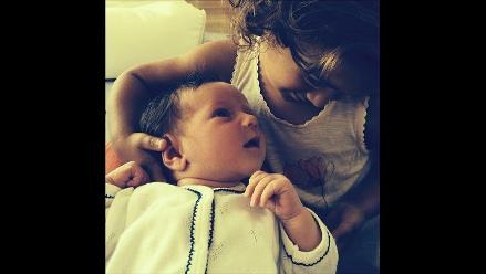 Bruce Willis y su esposa publican la primera foto de su recién nacida