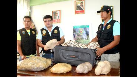 Puno: incautan más de 285 kilos de pasta básica de cocaína en operativo