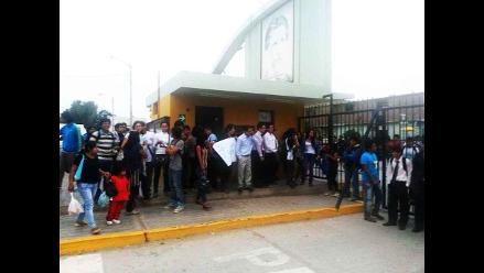 Lambayeque: suspenden clases en la UNPRG hasta el 02 de junio