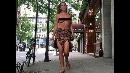 La hija de Bruce Willis se desnuda en protesta contra Instagram