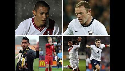 Inglaterra-Perú: ¿Cuánto valen los jugadores de cada selección?