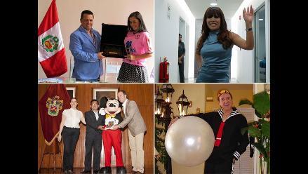 Polémicas condecoraciones a artistas y famosos en Lima