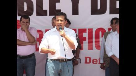 Humala: Modernización de refinería Talara generará empleo y desarrollo