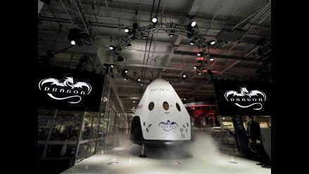 Presentan en EEUU nueva nave para transportar astronautas a la EEI