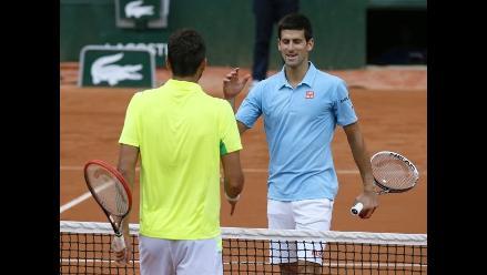 Roland Garros: Novak Djokovic despacha a Cilic y avanza a octavos de final