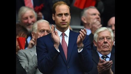Visita de lujo: príncipe William en el estadio de Wembley
