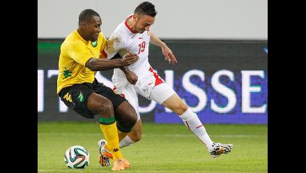 Suiza venció 1-0 a Jamaica y ahora piensa en el duelo con Perú