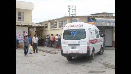 Chiclayo: madre e hija graves por quemaduras con olla de agua hervida