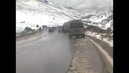 Dos policías sufren grave accidente por Ticlio en la Carretera Central